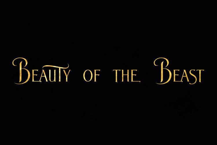 BeautyoftheBeast Font