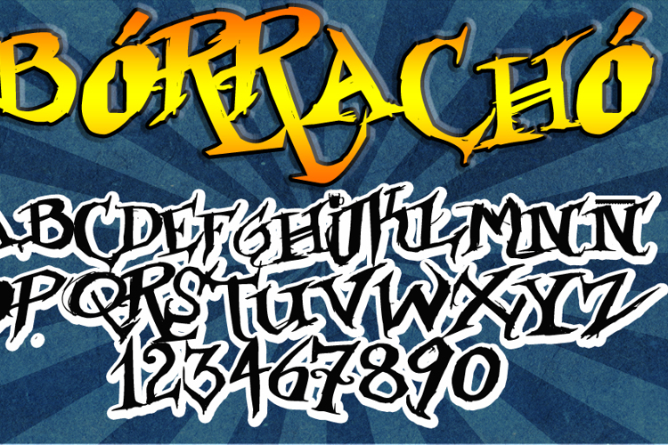 Borracho Font