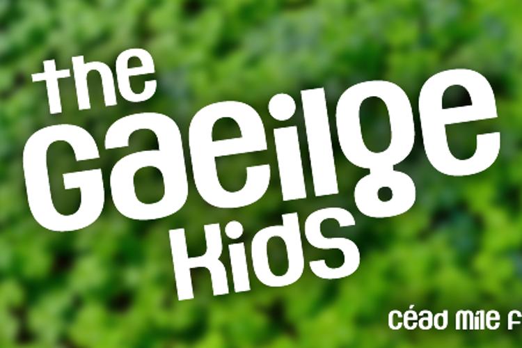The Gaeilge Kids Font