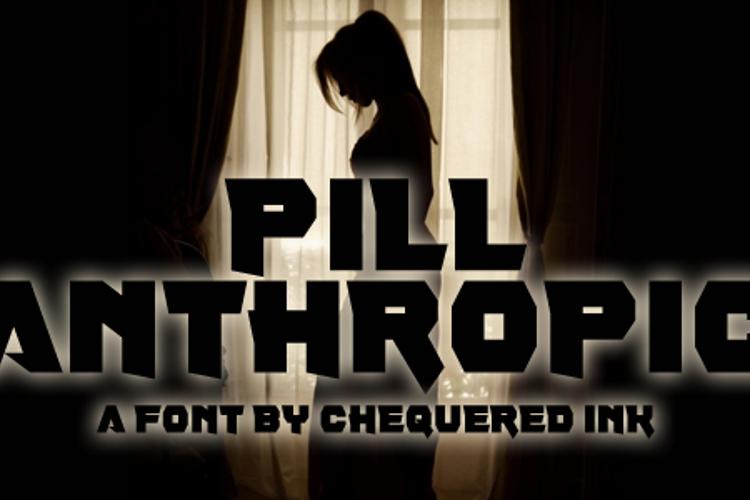 Pill Anthropic Font