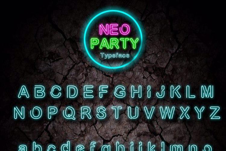 NÉO PARTY Font