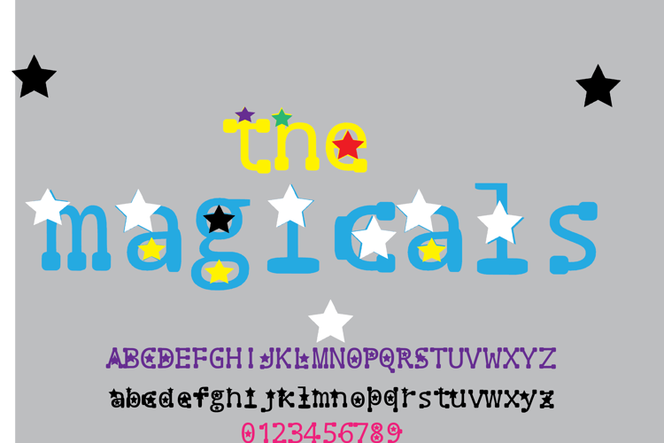 the magicals Font