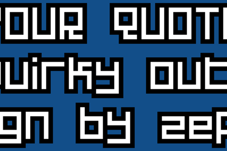 Your Quota Font