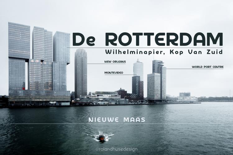 De Rotterdam Demo Font