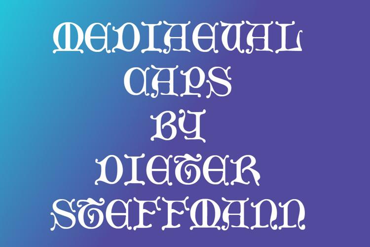 Mediaeval Caps Font