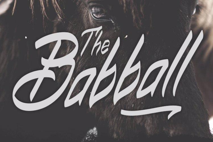 Babball Font