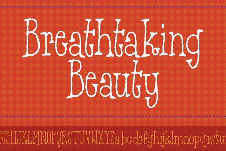 Breathtaking Beauty DEMO Font