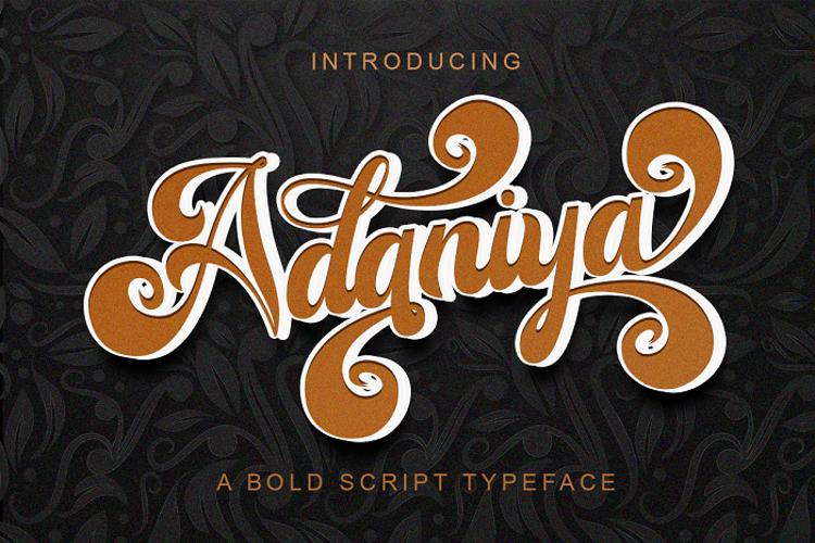 Adaniya Font