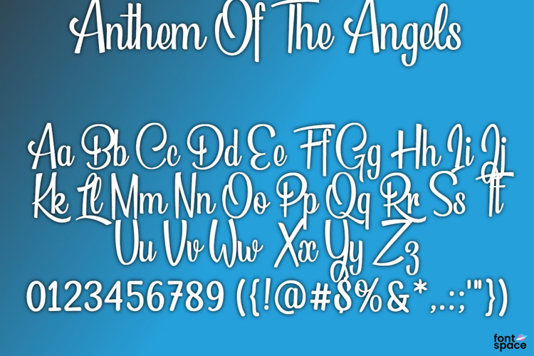 BB Anthem Of The Angels Font