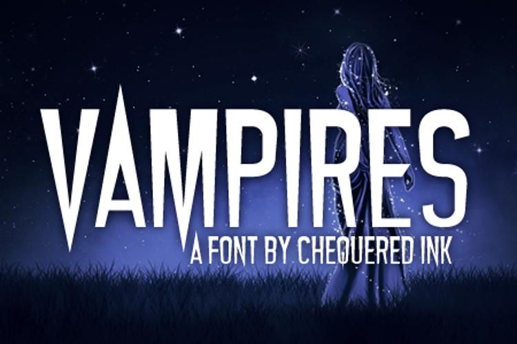 Vampires Font