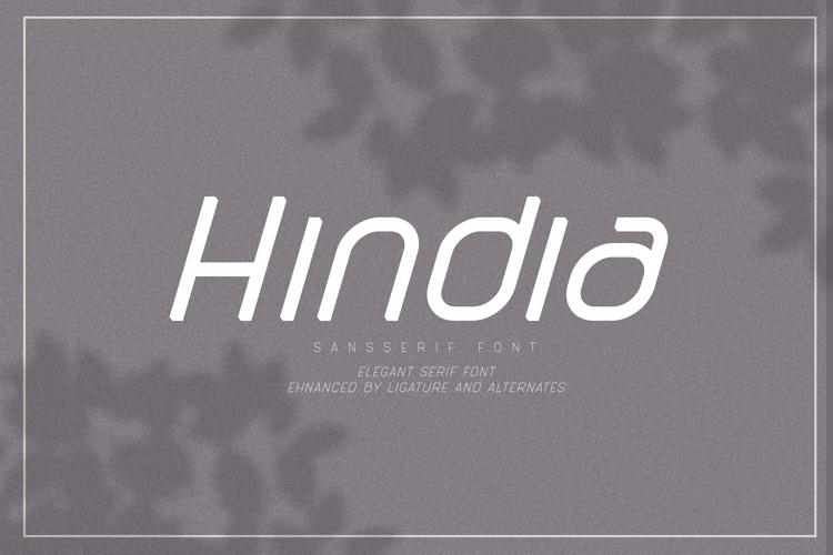 Hindia Font