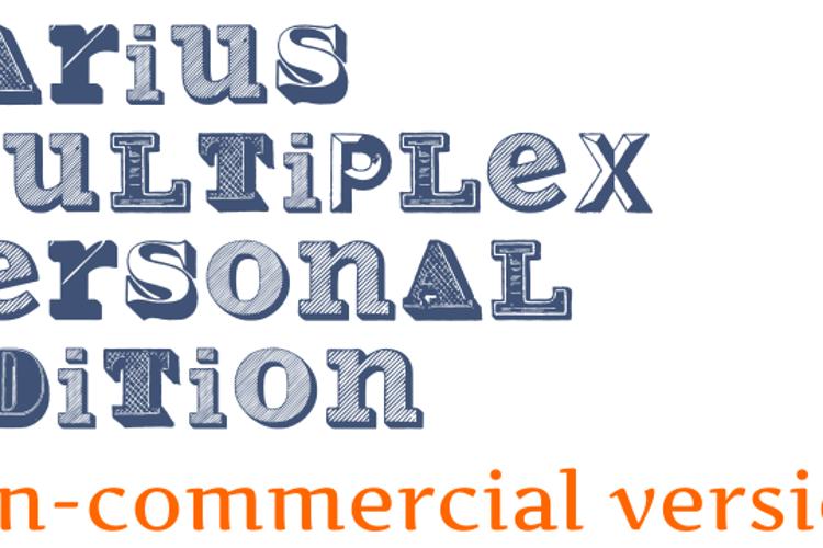 Varius Multiplex Personal Editi Font