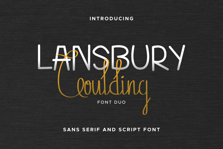 Lansbury G Font