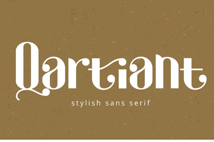 Qartiant Font
