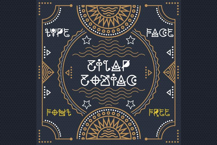 Zilap Zodiac Font