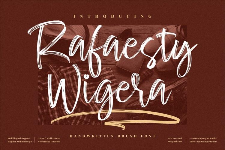Rafaesty Wigera Font