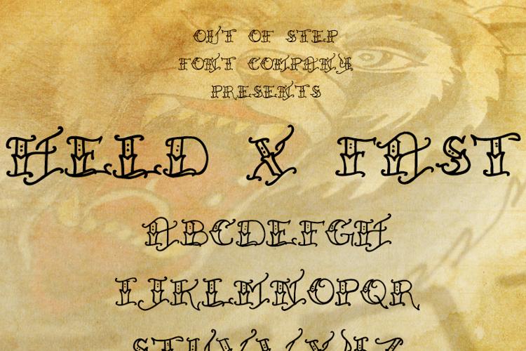 Held x Fast Font