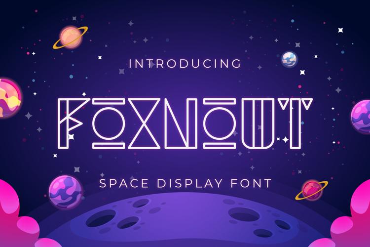 FOXNOUT Font