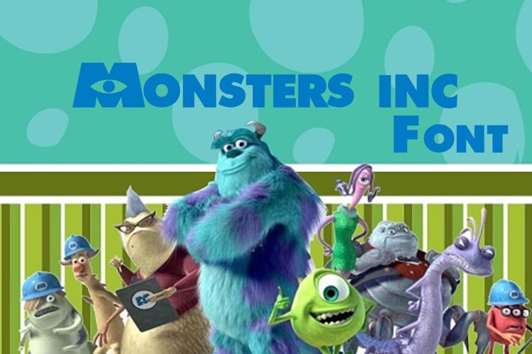 Monsters Inc Font