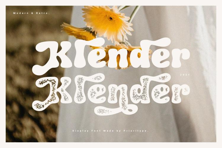 Klender Font