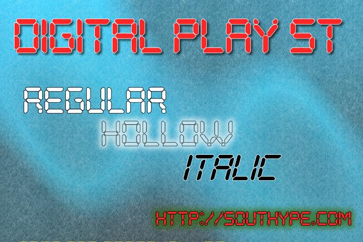 Digital Play St Font