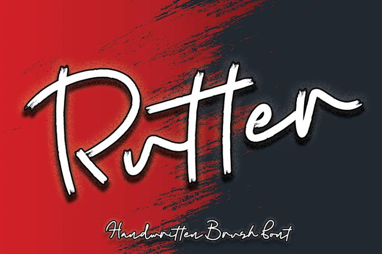 Rutter Font