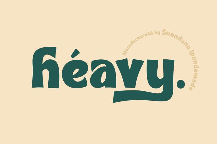 Heavy Font