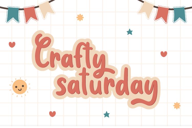 Crafty Saturday Font