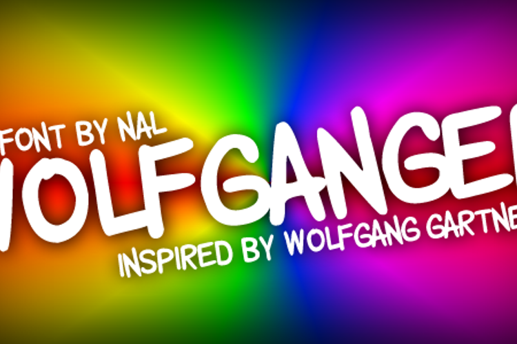Wolfganger Font
