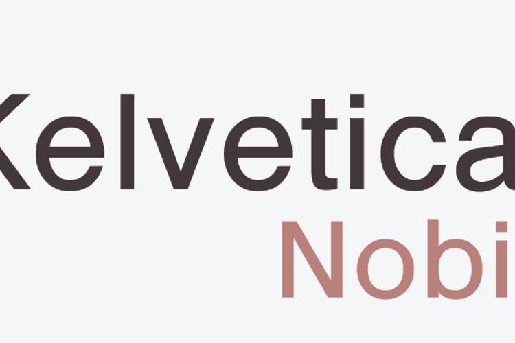 Kelvetica Nobis Font