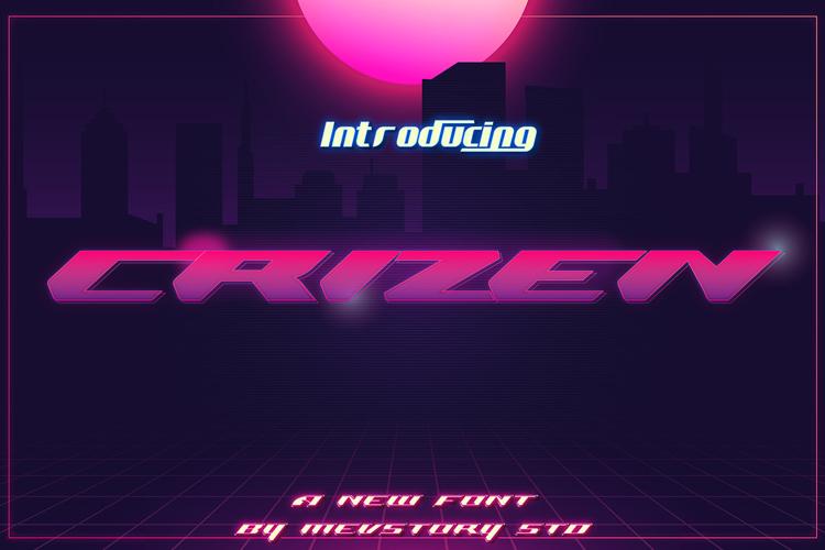 Crizen Font