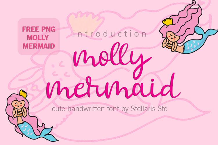 molly mermaid Font
