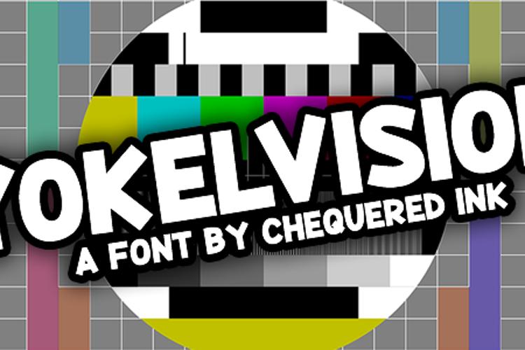 Yokelvision Font