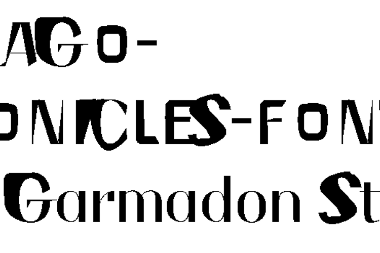 NINJAGOCHRONICLES Font