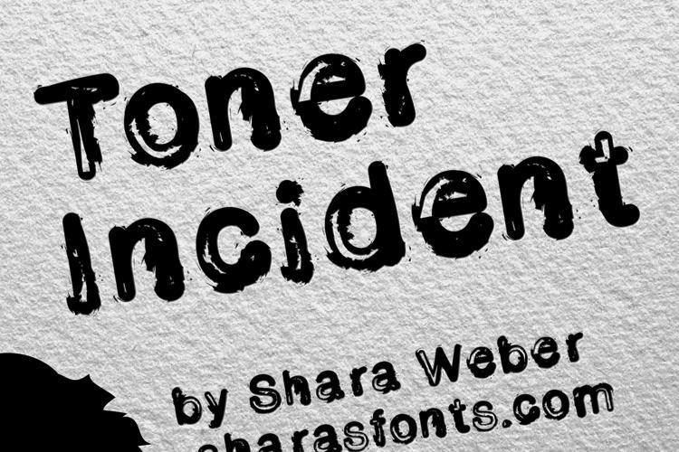 Toner Incident Font