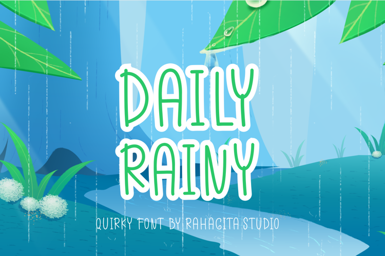 Daily Rainy Font