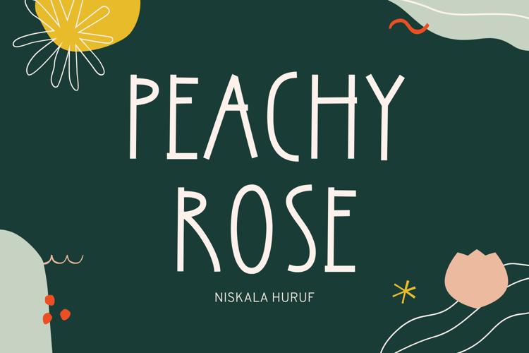 Peachy Rose Font