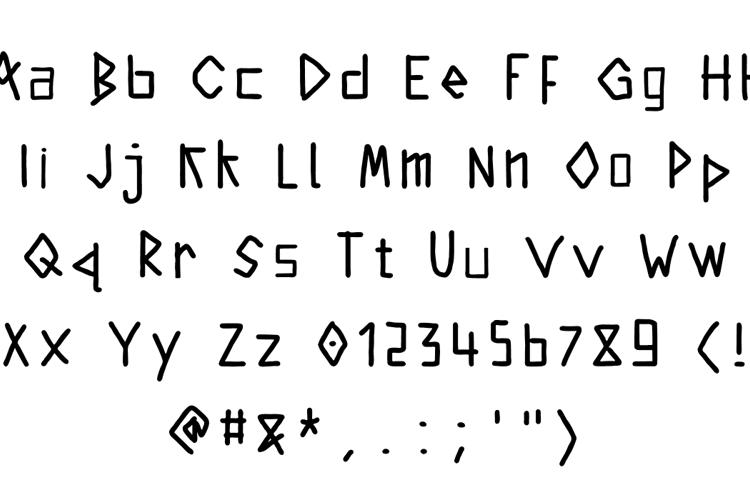 kintergarden Font