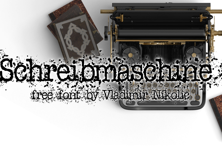 Schreibmaschine Font