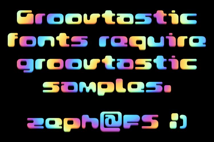 Groovtastic Font