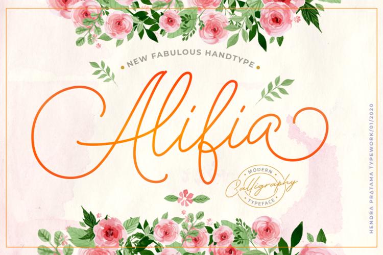 Alifia Font