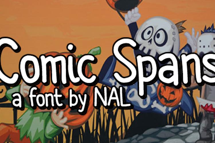 Comic Spans Font