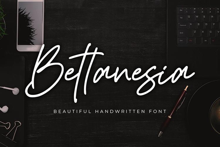 Bettanesia Font