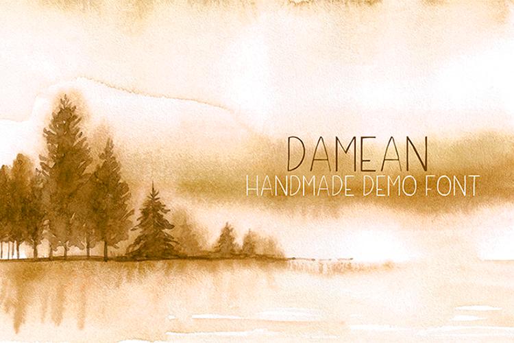 Damean Font