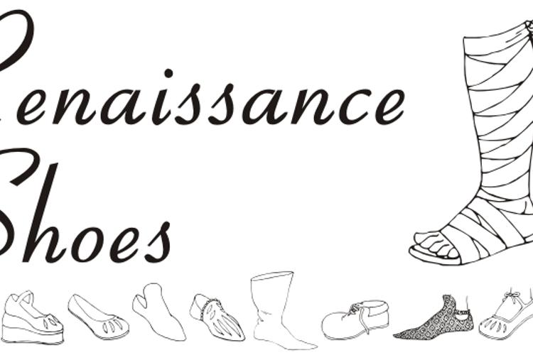 Renaissance Shoes Font