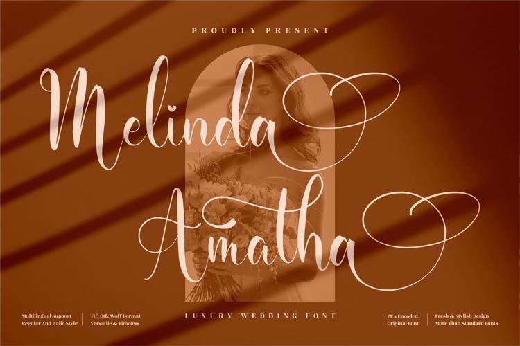 Melinda Amatha Font