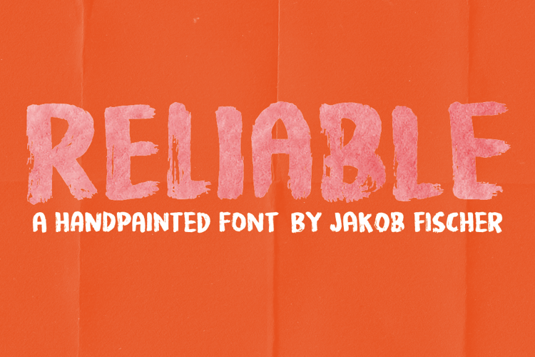 Reliable DEMO Font