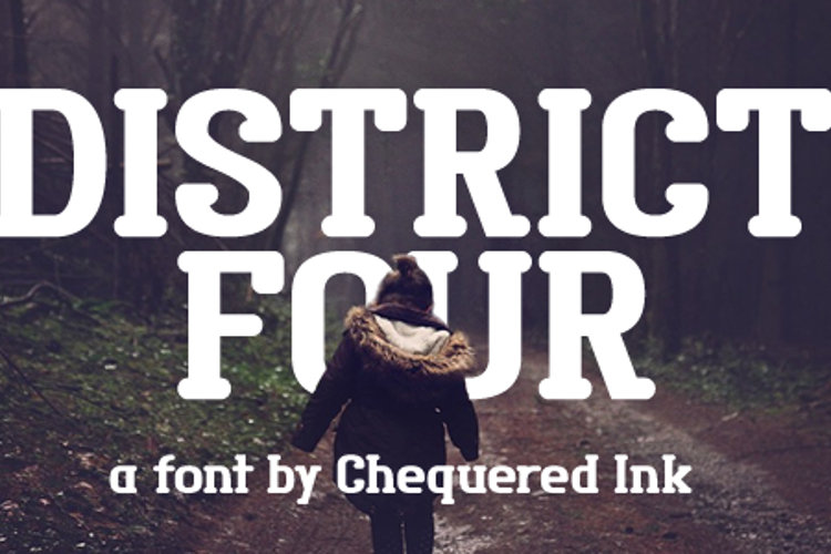 District Four Font