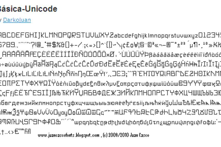 BasicX Font