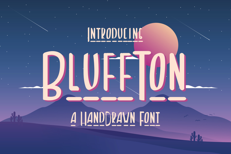 Bluffton Font